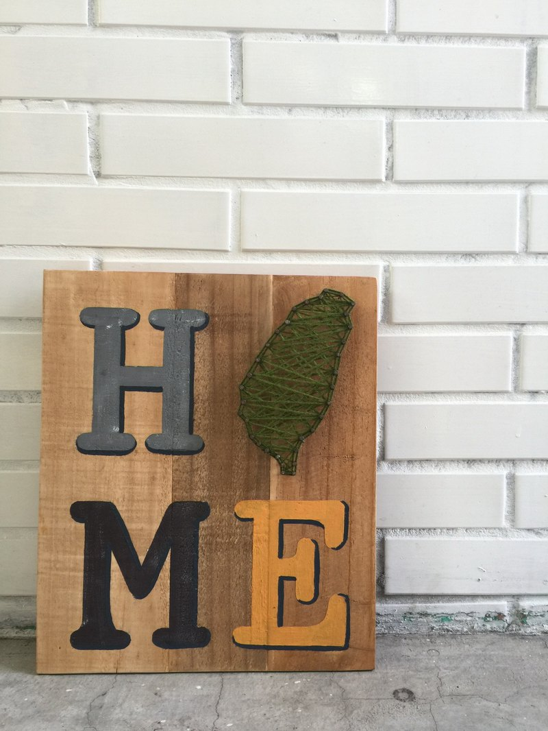 HOME Taiwan is my home wall hanging wood works home layout
