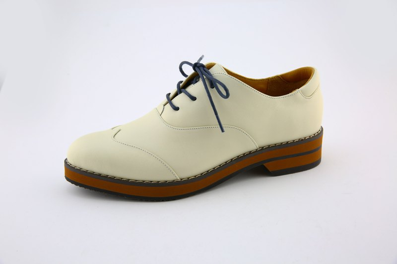 Casual inner ear oxford shoes