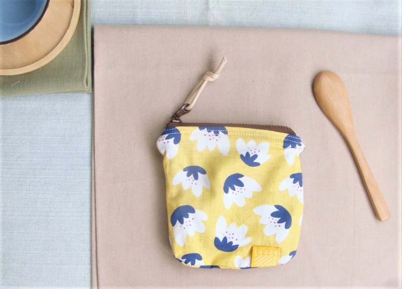 Sunshine Yellow I Limited Tulip Series l Small meal purse