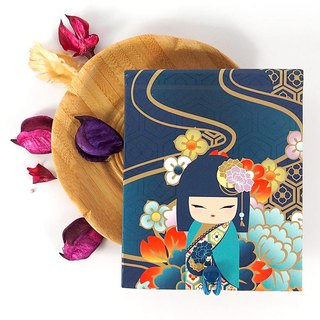 Notepad 85 pages with mirror - Mamiko friendship truth [Kimmidoll notebook / diary]