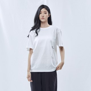 DYCTEAM Basic Series | Slogan By Side Tee (WH)