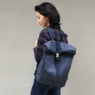 Candice Backpack(Height adjustable)(15.6'' Laptop OK)- Blue_100453-30