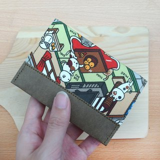 Collect cats washed kraft paper limited edition | card holder business card holder