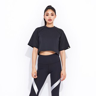 【VIASWEAT】KENNA Perforated Boxy Top