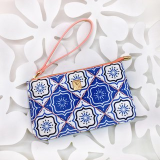 Gorgeous Art Style Zipper Coin Purse Handbag Rectangular Portable Fashion Mobile Phone Case
