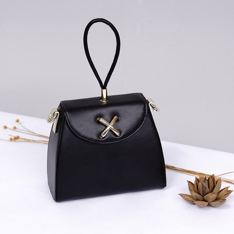 MBS [Series of ReberHeart] limited edition leather handbags ladies handbag diagonal package