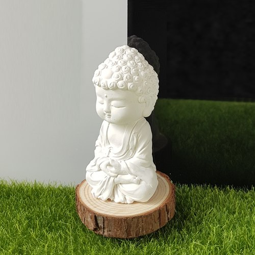 Miniature Small meditation Buddha 1801, scented car accessory