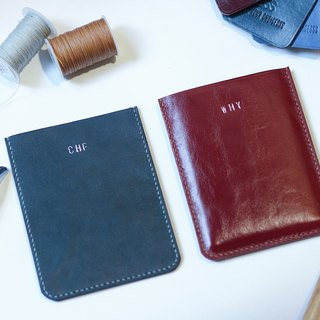 Make Your Choicesss handmade Italian leather Travel Passport Case