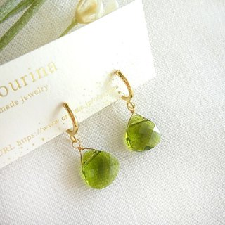 Mossgreen Hoop  earrings