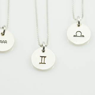 Constellation Small Tag Necklace - Wind Constellation (1)