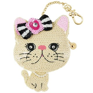 Elegant Cat Coin Bag