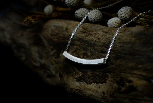 ▽ - Geometric Series - ▽ Silver / necklace / gift