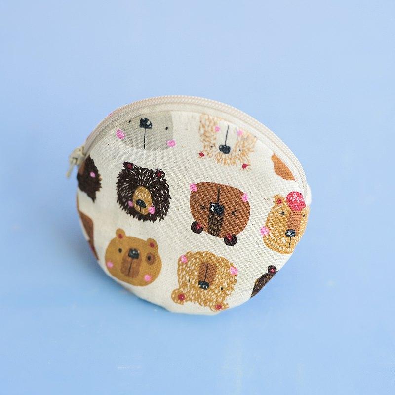 可愛新年禮物 元寶包 熊熊表情 零錢包
