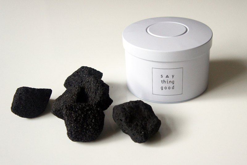 Fragrant volcanic stone - WHITE - Fresh and charming series birthday gift