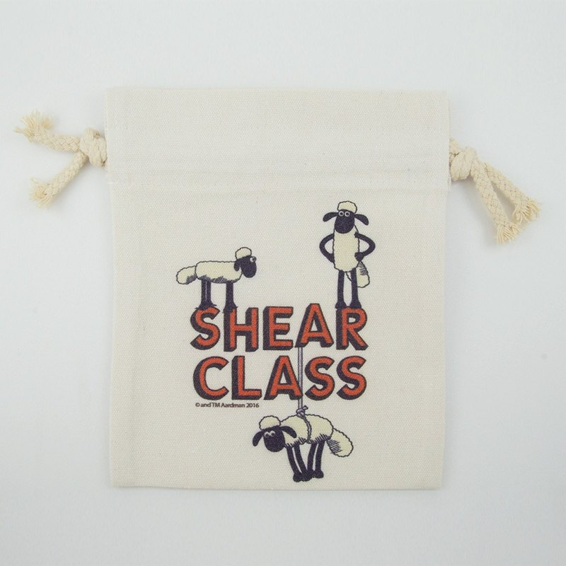 Smiled sheep genuine authority (Shaun The Sheep) - Pouch (Large): Shear Class []