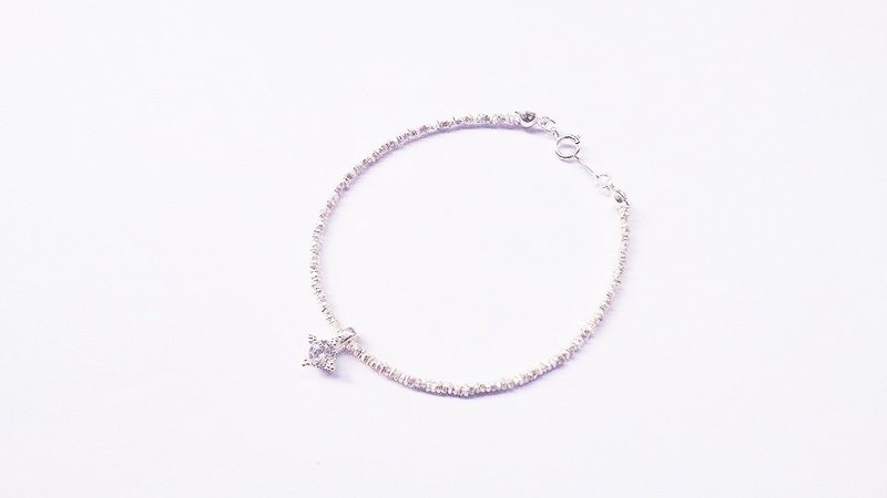 """Classic Series"" classic (large) coins shimmer CZ Bracelet"