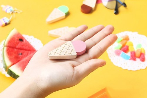 CUSTOMIZABLE Wooden USB Flash drive - ice cream