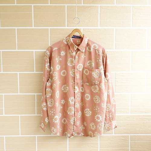 │Slowly│ memory of the bouquet - vintage shirt │ vintage. Vintage