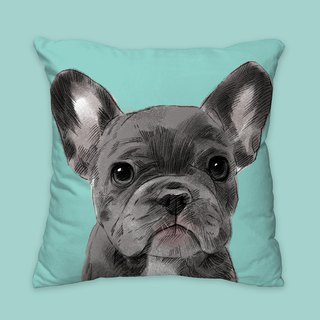 [I will love you forever] Classic black law pillow pillow animal pillow / pillow / cushion
