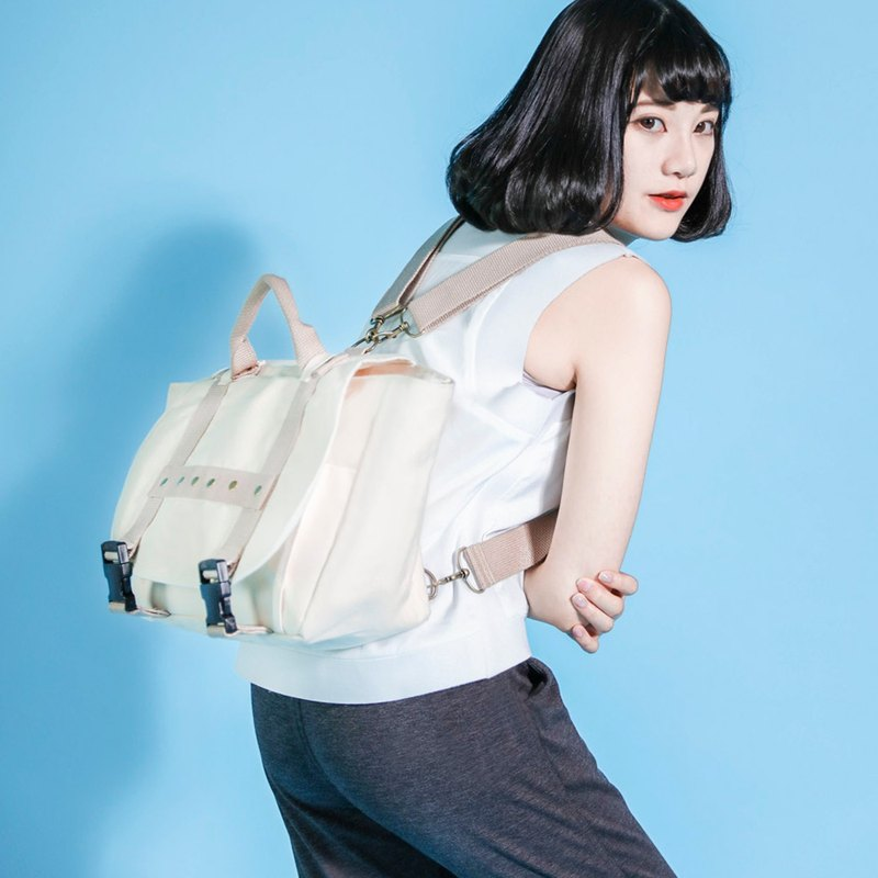 Chemist Chemist's Backpack _6SB905_米白