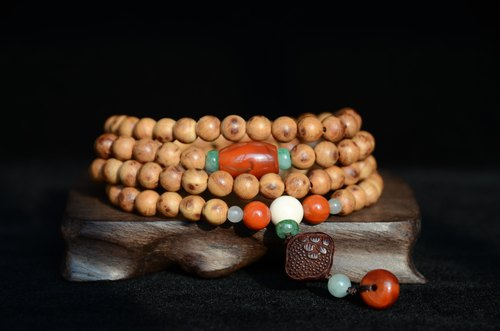 [Smell] Thuy Cypress Natural Art Bracelet