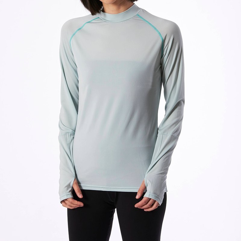 Copper Ammonia Long Sleeve Tee - Mint Green