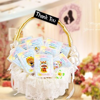 The Cat's Delight Tea and Wedding Small Things 喵 好 好 好 good luck blessing tea bag comprehensive paragraph secondary access, send guest gifts