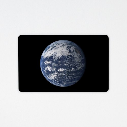 Earth Earth | wafer money card (non-card attached)