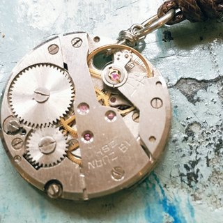 Frozen Time | mechanical watch movements necklace