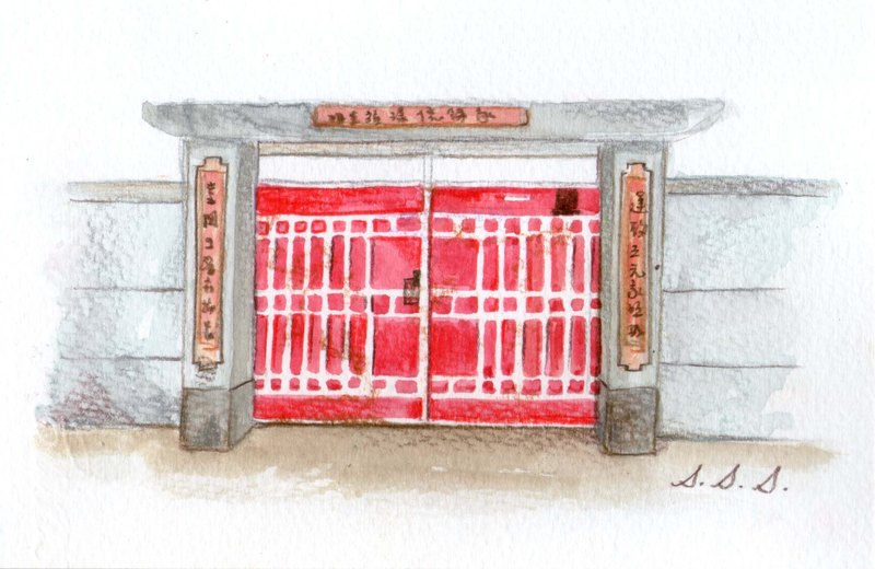 "Xue delicate child ""Mom! I would like to live in military dependents' books illustrator original Red Door series 4-6"