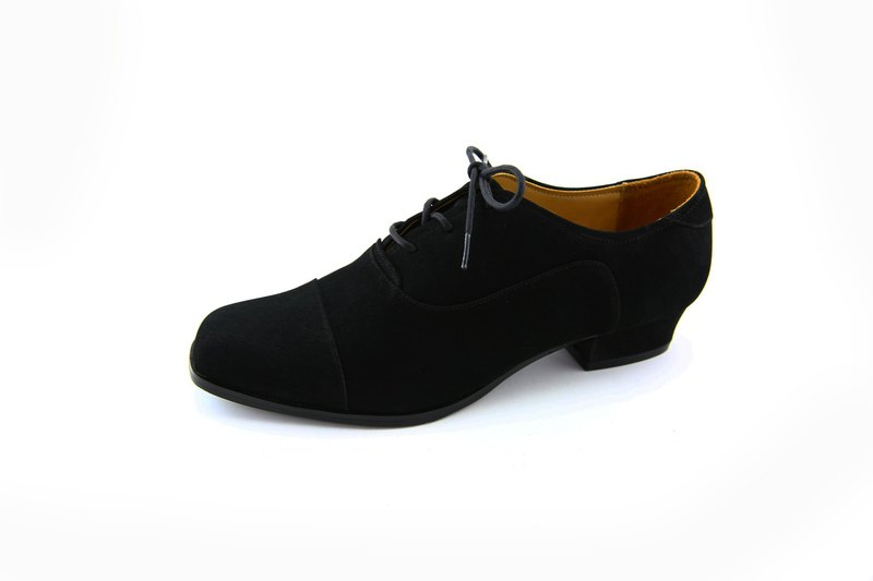 Rough square oxford shoes