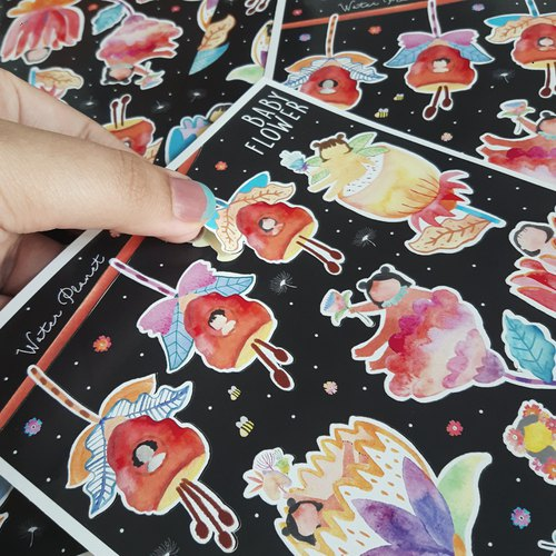 Baby Flower | Die Cut Sticker Sheet