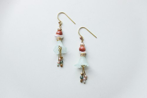 │Ningfu│Earrings-Golden Sandstone