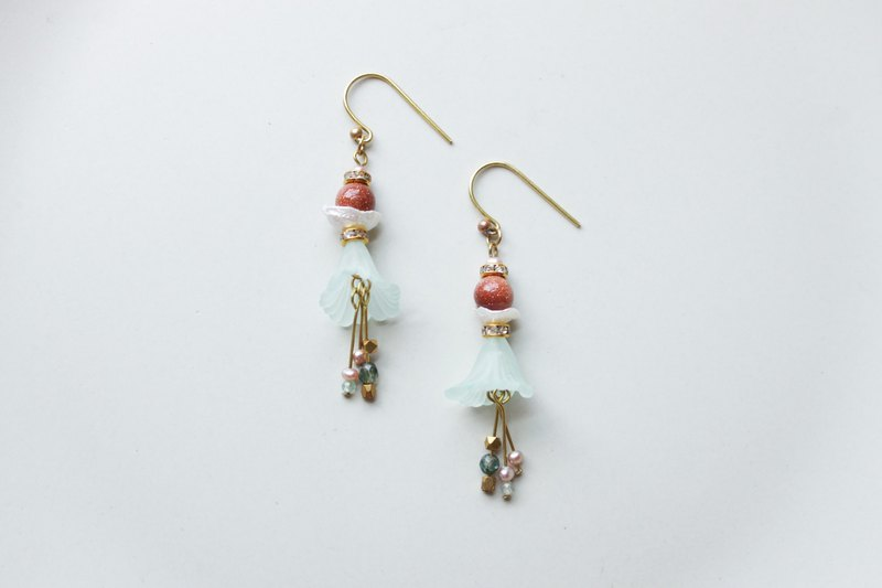 Nymph - earring  clip-on earring