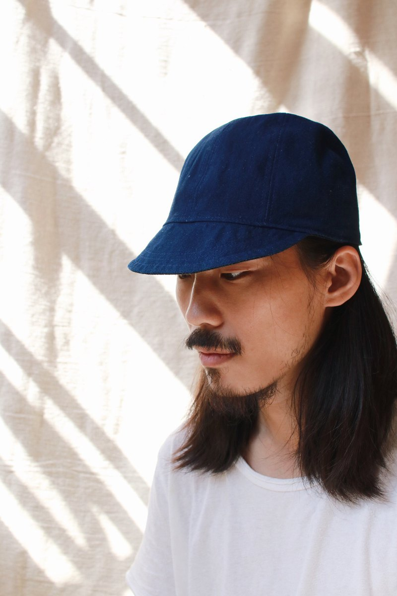 OMAKE omabow reversible cap / double-sided wear / full blue ash