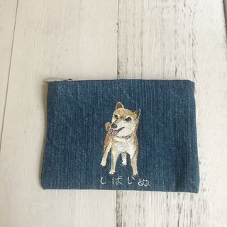 Hand-painted の coin purse