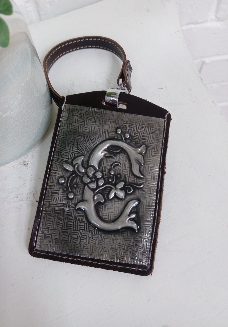 [Classic Leather ID Card Set] Handmade Tin Sculpture and DIY Experience Course・6/11.15, 17.25.29.