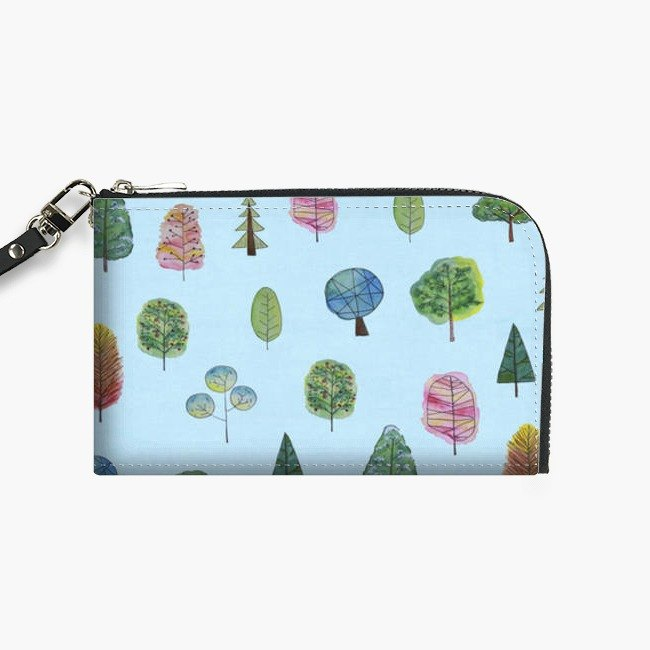 Snupped Isotope - Phone Pouch - treetreetree