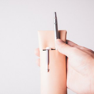 PLEASANT|Cache Case - cow leather stationery