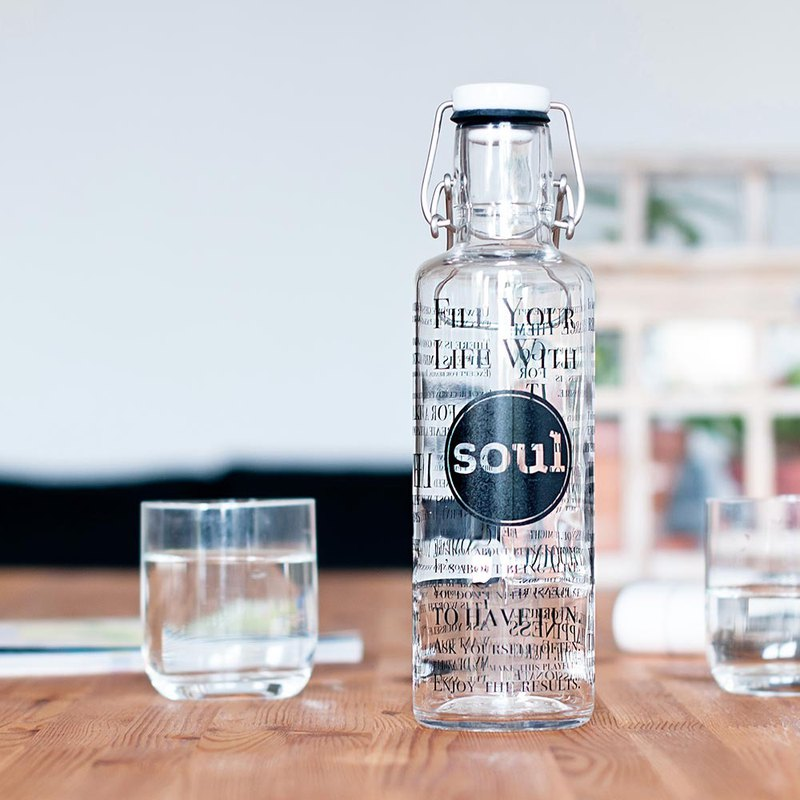 Soulbottles 600ml / Fill your Life with Soul