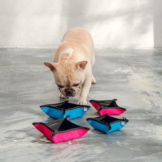 easy-go! pets outdoor bowls (pink-M/L)