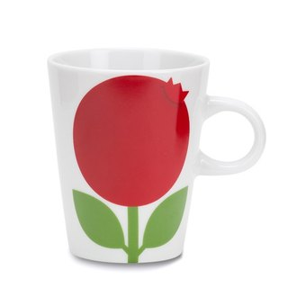 Nordic cute retro Floryd Blueberry Raspberry Mug