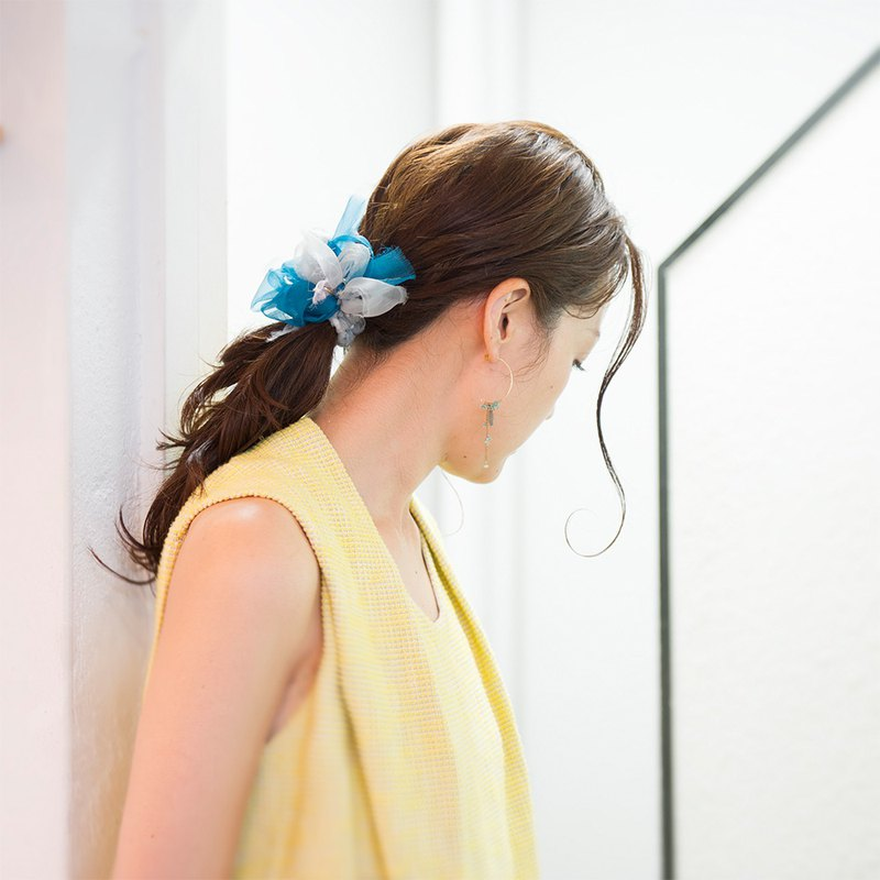 Smoky || Coloring Blooming Barrette / Hair Clip