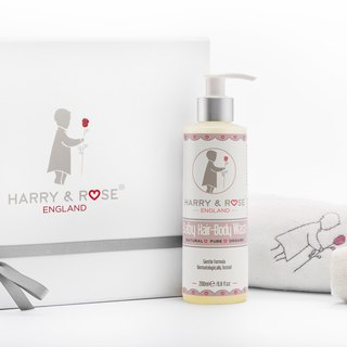 British gentleman small Hang top organic baby bath gift box