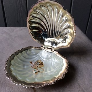 under the sea shells silver copper decorative boxes