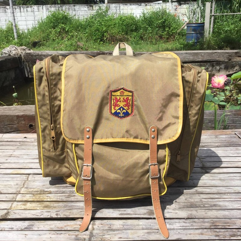 EARTH.er :: Vintage系列 :: │懷舊背包 ● Vintage Backpack │