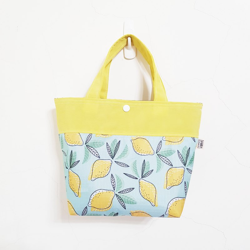 [Summer Light Lime & Yellow] Tote bag waterproof bag gloves bag double bag bag lunch bag bag leisure bag