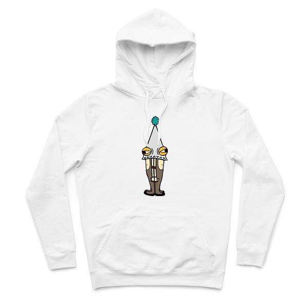 Sticky body Bro - White - Hooded T-Shirt