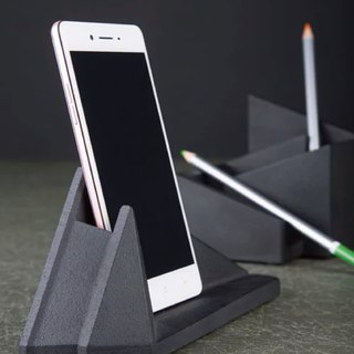 Multi-function mobile phone holder/seat