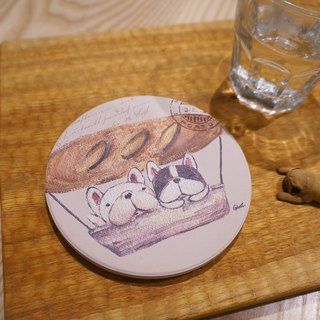 France bucket coaster - French bread